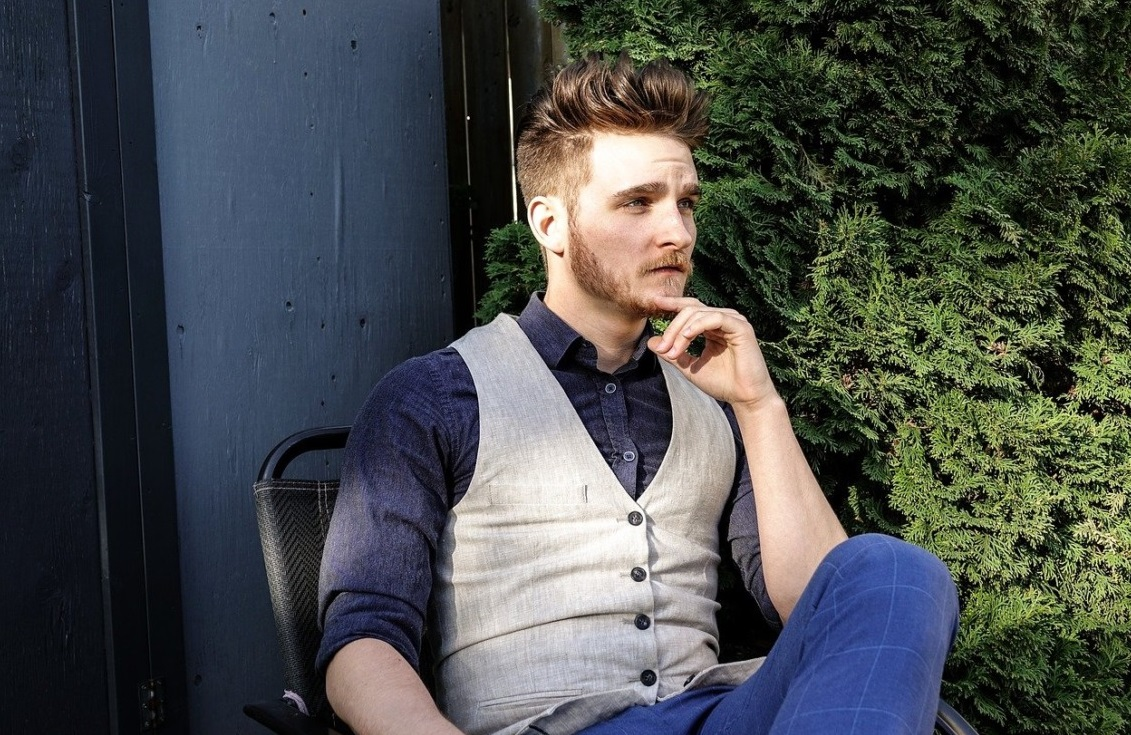 homme look hipster
